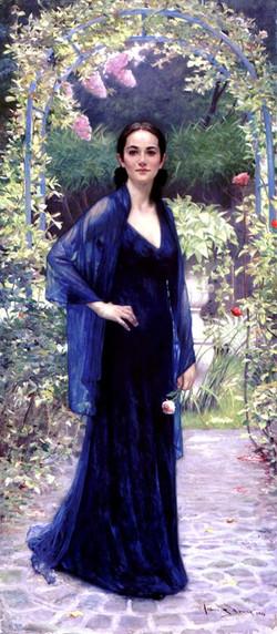 Jennifer in the Garden
