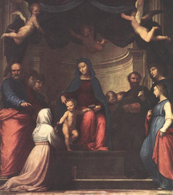 The Marriage of St Catherine of Sien