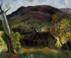Blasted Tree and Deserted House 1920