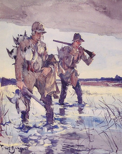Two Duck Hunters