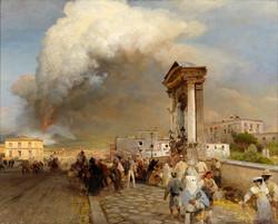 Ausbruch des Vesuv