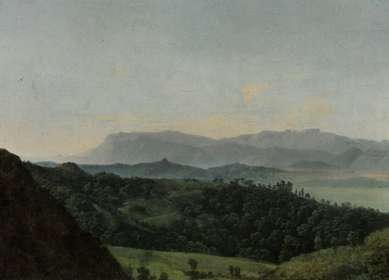 Extensive Mountainous Landscape