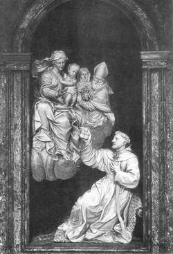 Vision of St Nicholas 1651-1655  Mar