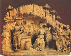 Christ and the Samarian Woman  Terra