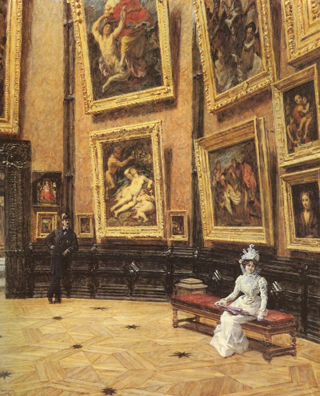 In The Louvre