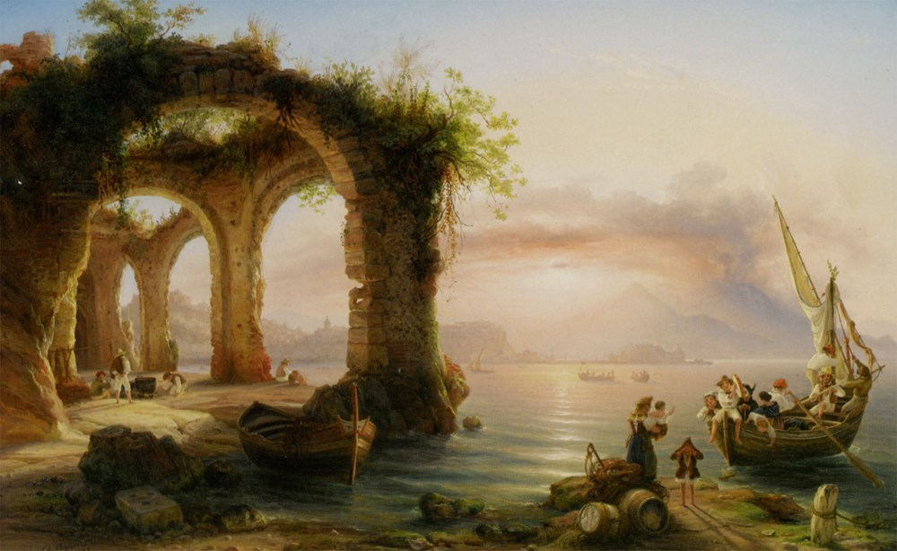 The Bay of Naples from Posillipo