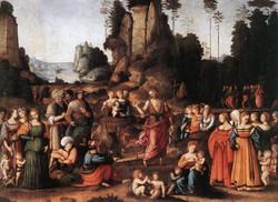 The Preaching of Saint John the Bapt