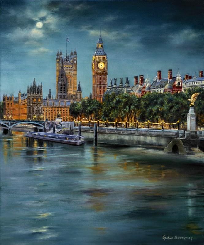 Along the Thames at Night 2012