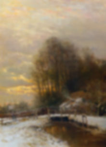 winter_landscape_with_peasant_woman_and_