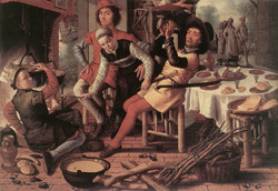 Peasants by the Hearth