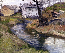 Canal Through New Hope