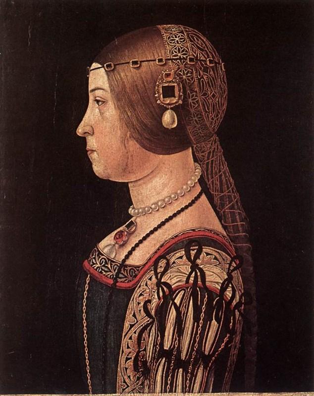 Portrait of Barbara Pallavicino