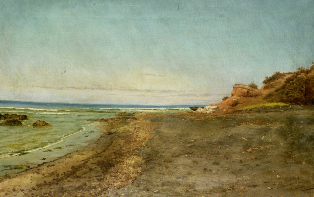 The Shore of Maccarese Near Fregene