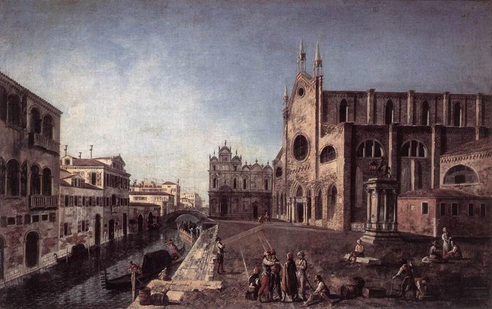 View of Campo Santi Giovanni e Paolo