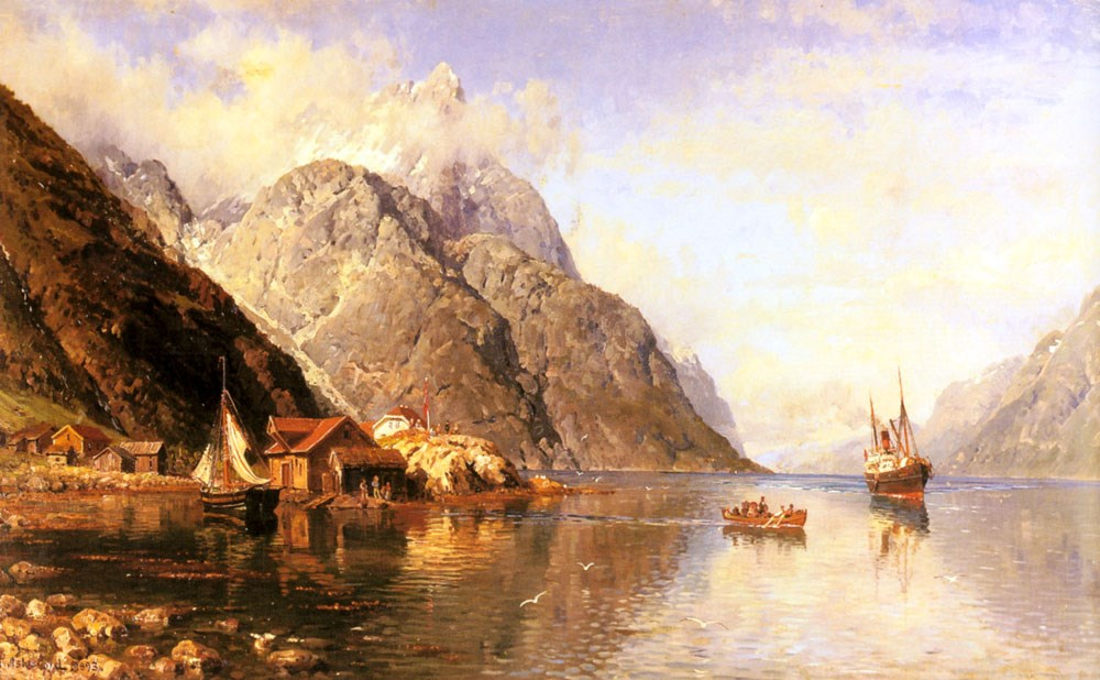 Village on a Fjord