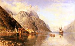 Village on a Fjord