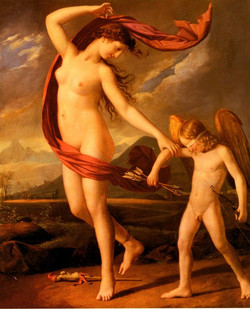 Psyche Et Cupidon Psyche And Cupid