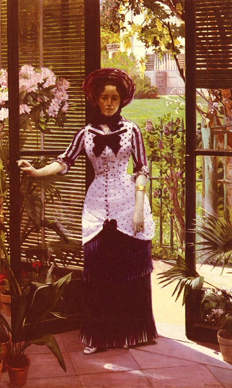 Portrait De La Femme D'Artiste Entra