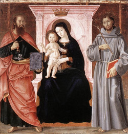 Madonna Enthroned with the Infant Ch