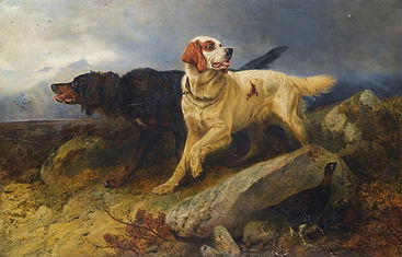 Andsell_Richard_1878_Setters_On_The_Scen