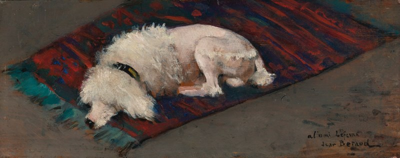 Le Caniche Blanc