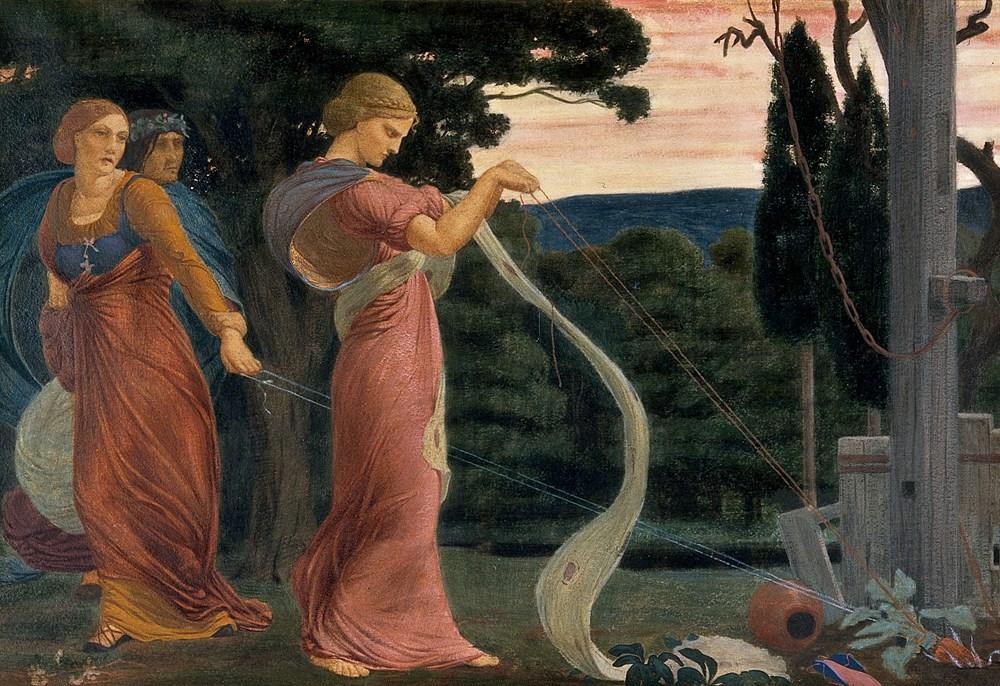 Three Women Plucking Mandrakes
