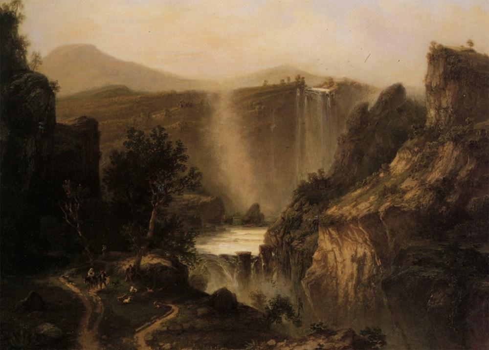 The Tivoli Falls
