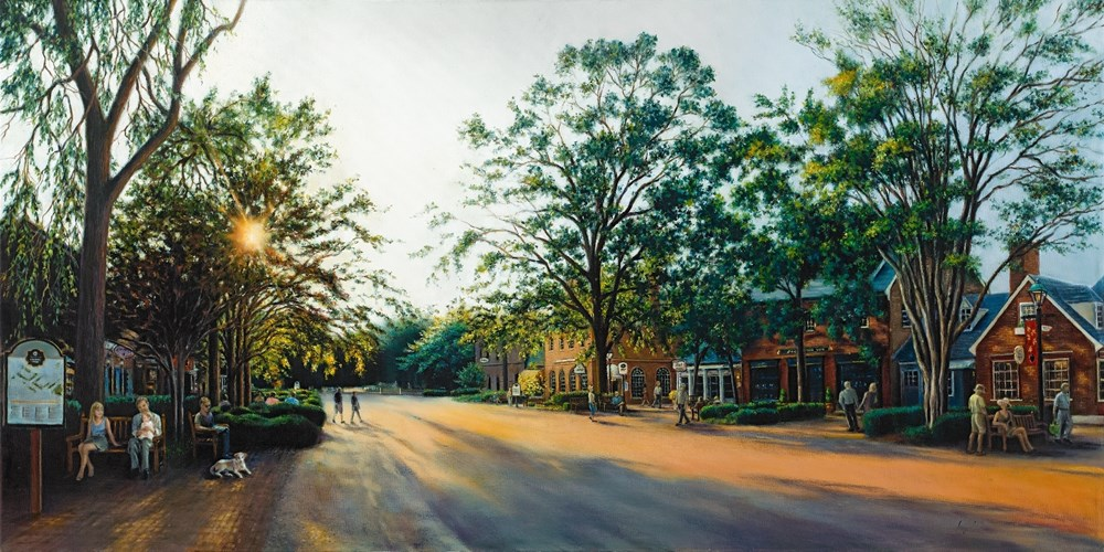 Merchants Square in the Late Afterno
