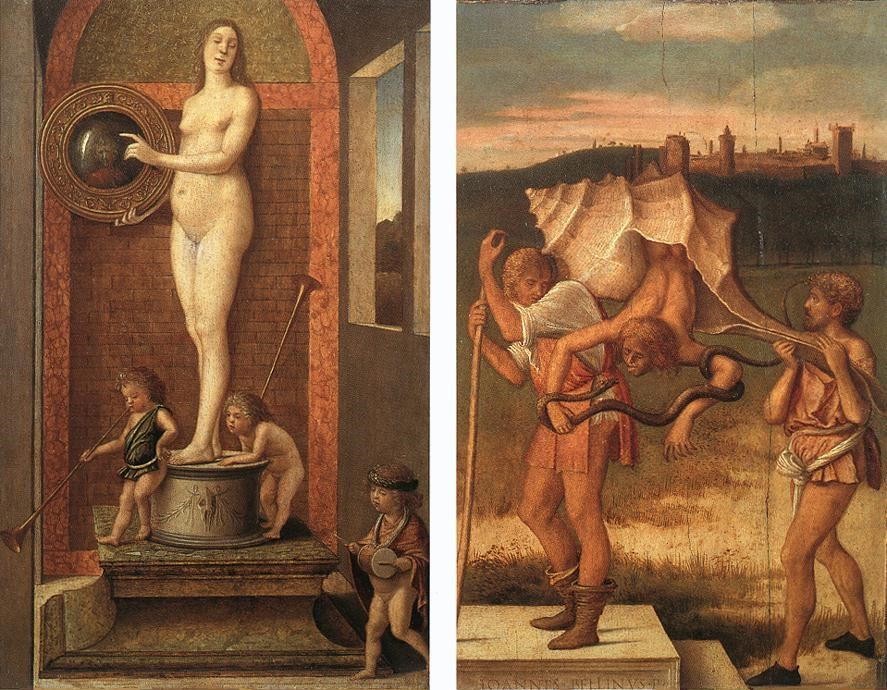 Four Allegories: Prudence and Falseh