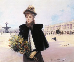 April Morning, Place De La Concorde
