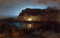 Fireworks in Naples