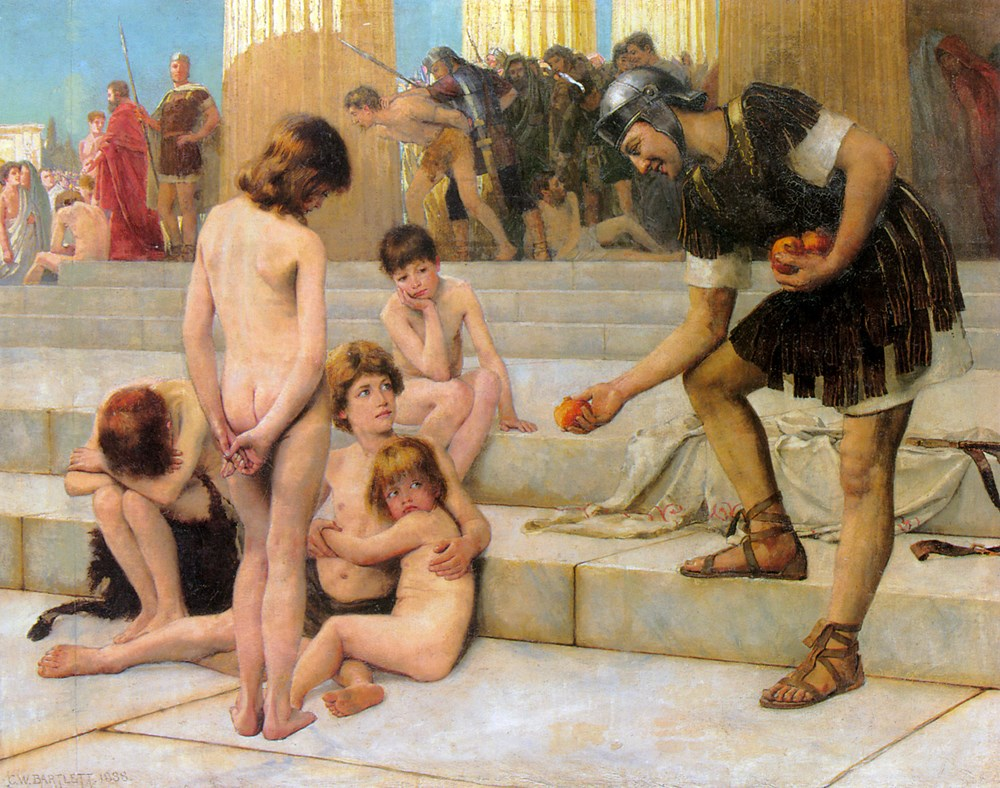Captives in Rome