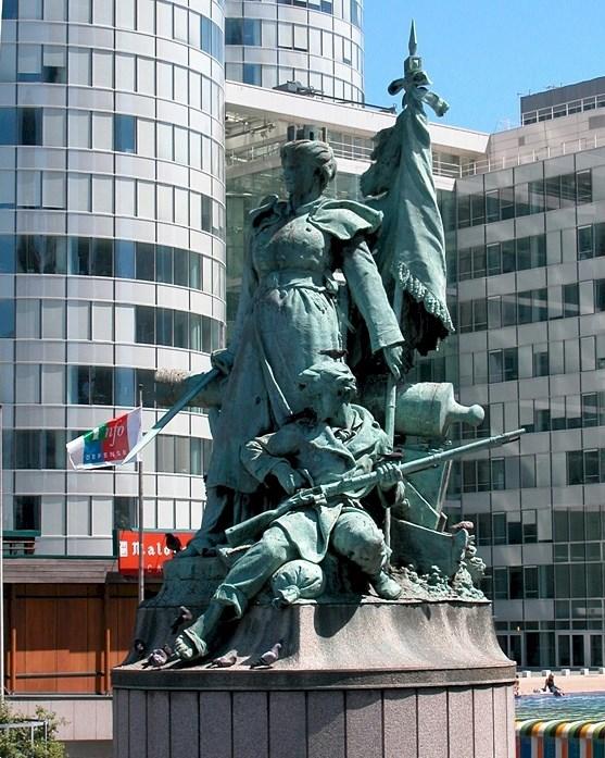 Monument aux Défenseurs de Paris