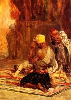 Priere dans La Mosquee Prayer in a M