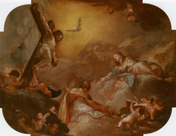 Saint Augustine and the Virgin Adori