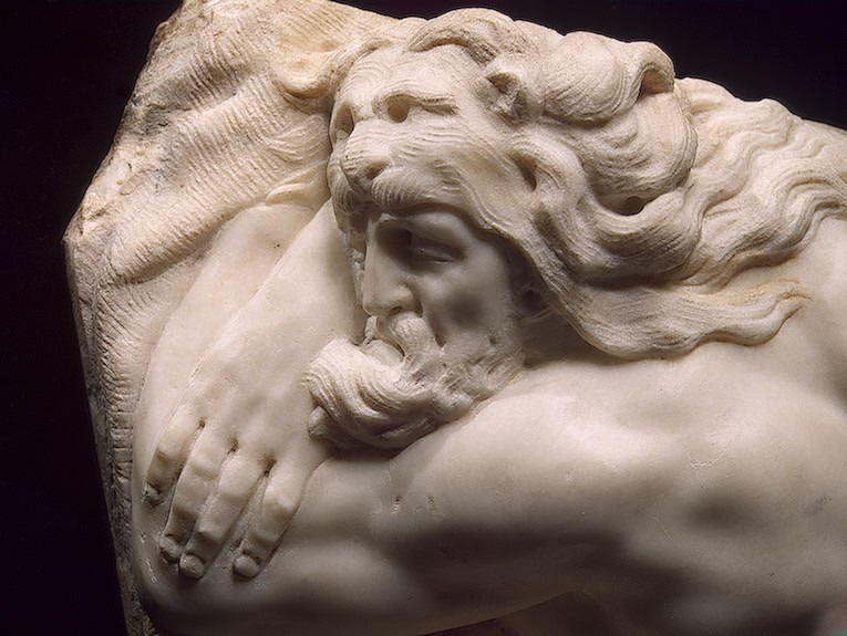Sleeping Hercules [detail: 1] circa