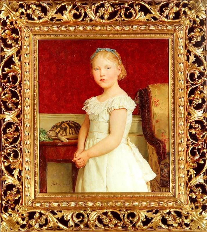 Portrait of Dora Luthy