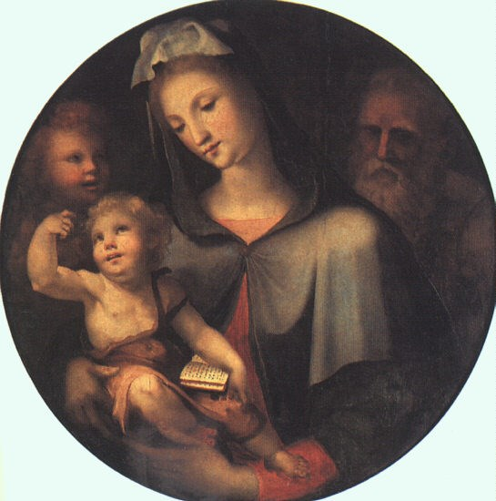 The Holy Family with Young Saint Joh