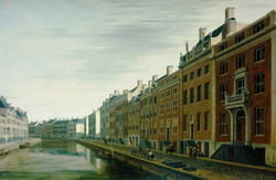 The Bend in the Herengracht near the