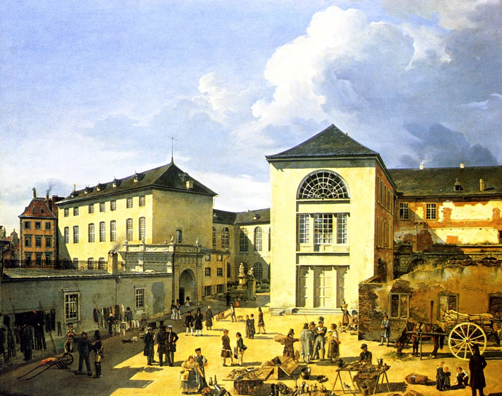Die alte Akademie in Dusseldorf