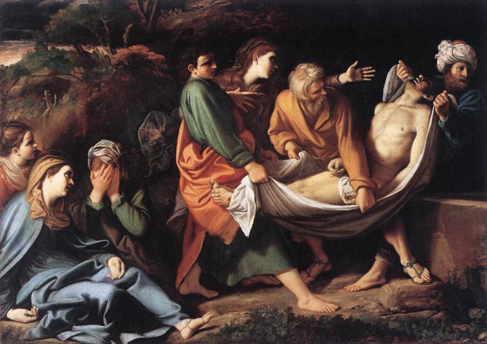 The Entombment of Christ 1610