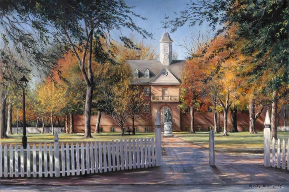 The Wren Building, College of Willia
