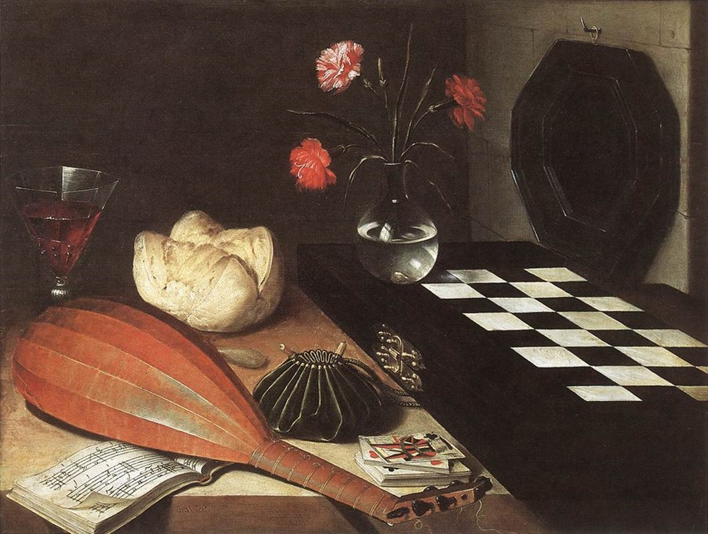 Stilllife with Chessboard (The Five