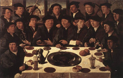 Banquet of Members of Amsterdam's Cr