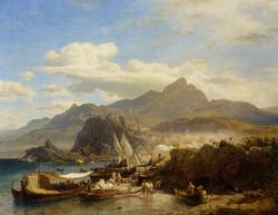 A Busy Town on the Levantine Coast