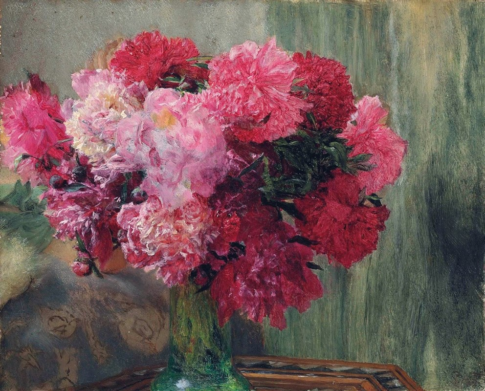 A Bunch of Peonies