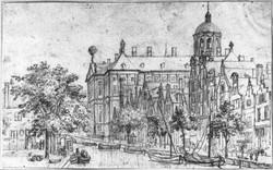 Amsterdam, the Nieuwezijds near the