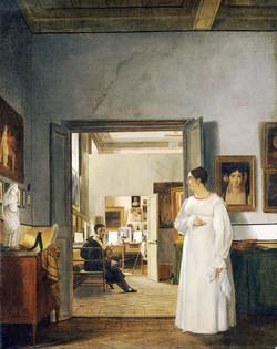 The Studio of Ingres in Rome (2nd ve
