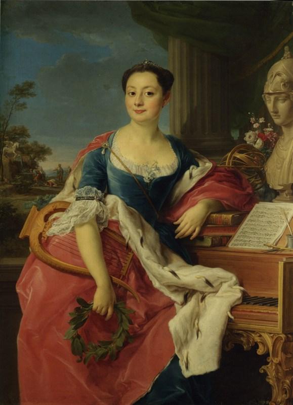 Portrait of the Principessa Giancint