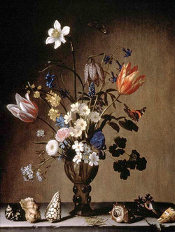Still Life with Flowers and Shells
